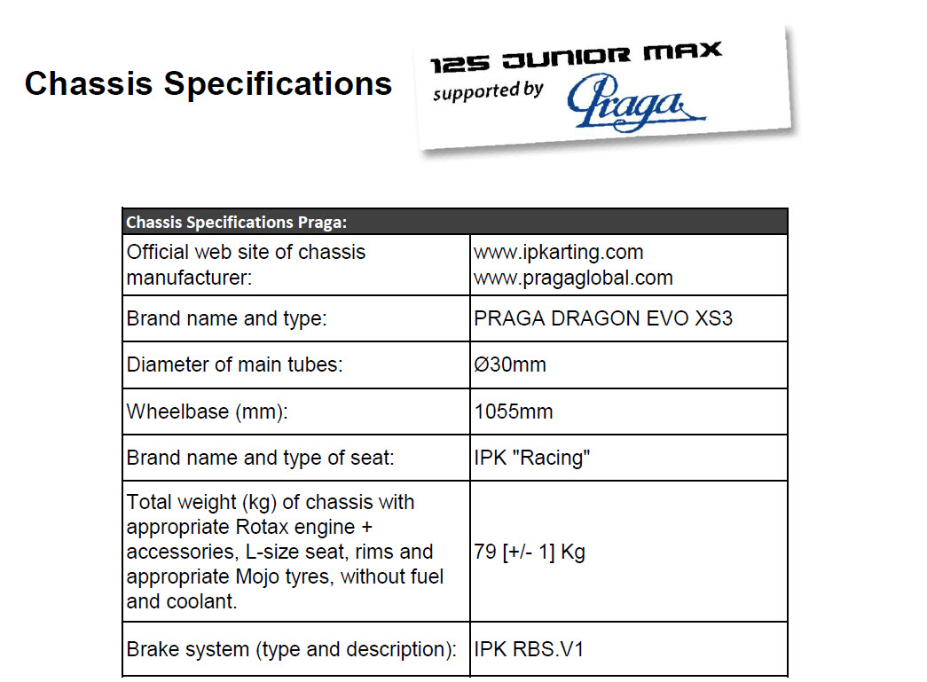 Chassis Specifications